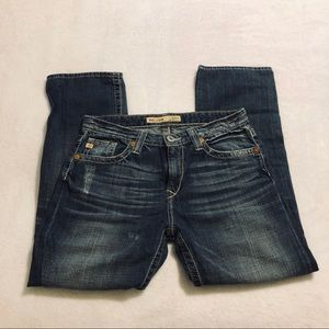 Big Star Boyfriend Slightly Distressed Jeans - 27